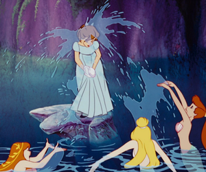 childhood, sirens, and water image