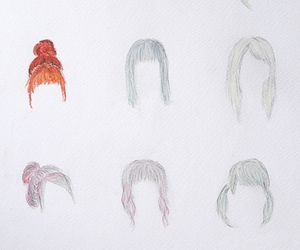 hair, hairstyles, and charlavail image