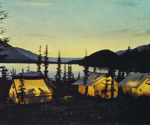 tent, camping, and nature image