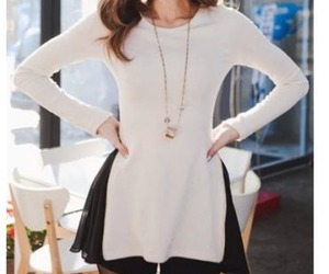 blouse, fashion, and trend image