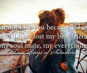 quote, best friends, and couple image