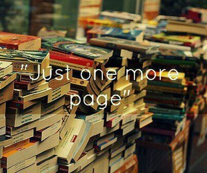 book, page, and reading image