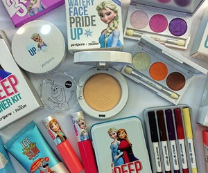 frozen and make up image