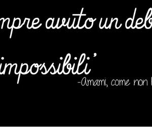 sempre, frasi italiane, and impossibile image