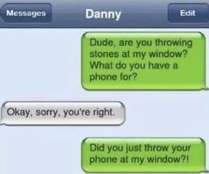 funny, stone, and danny image