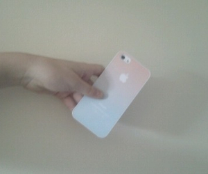 case, hand, and iphone image