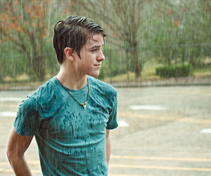 boy, rain, and Hot image