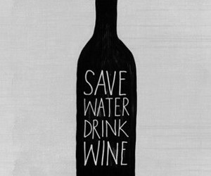 wine and water image