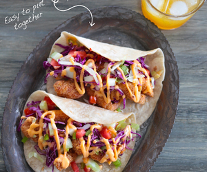 Chicken, poultry, and taco image