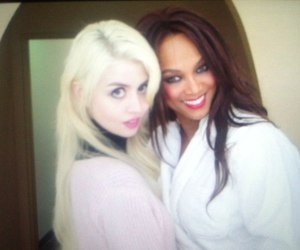 allison harvard, models, and tyra banks image