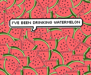 background, food, and watermelon image