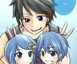 fairy tail, gruvia, and storm image