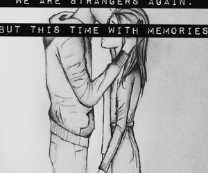 memories, strangers, and love image