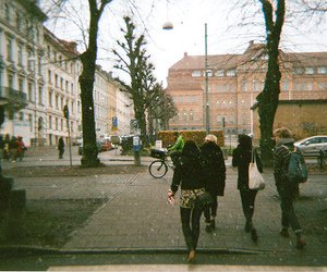 girl, people, and city image