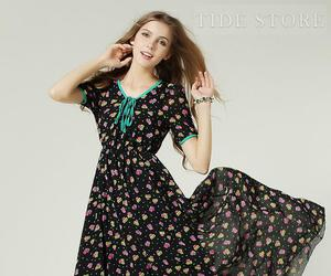 wholesale summer dresses, summer dresses for cheap, and knee length club dresses image