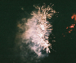 fire, firework, and lights image