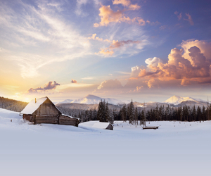 landscape and snow image