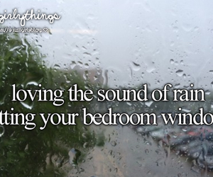 rain, sound, and just girly things image