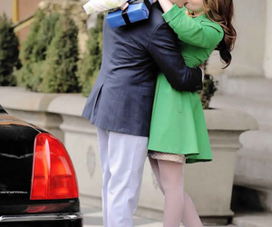 love, blair waldorf, and chuck bass image