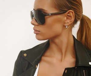 black leather, add more tags, and girl image