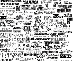 30 seconds to mars, my chemical romance, and rihanna image