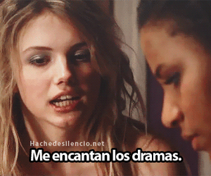 cassie, drama, and skins image