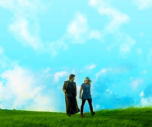 billie piper, david tennant, and doctor image