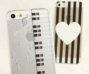 case, fashion, and piano image