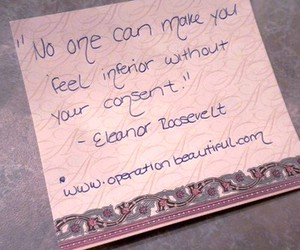 eleanor roosevelt, consent, and inferior image