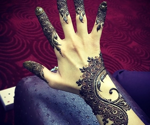 henna, tattoo, and design image
