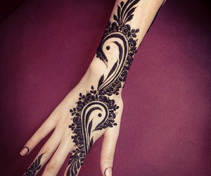 henna, حنة, and tattoo image