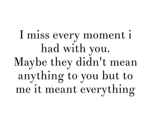 quote, moment, and sad image