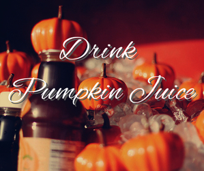 autumn, drink, and harry potter image