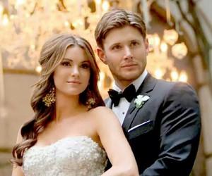 Jensen Ackles, supernatural, and wedding image