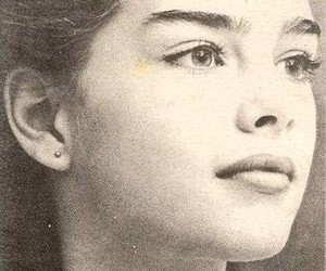 brooke shields, beautiful, and face image