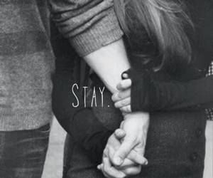 stay, love, and couple image