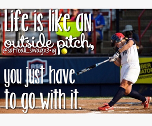 softball and go with it image