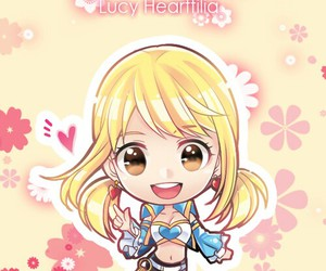 fairy tail, anime, and lucy heartfilia image