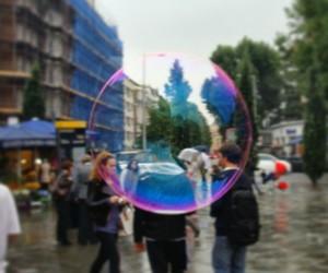 bubbly image
