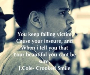 crooked smile and j cole image