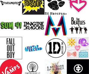 bands, beatles, and logos image