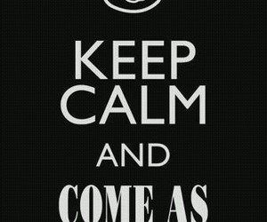 nirvana, keep calm, and come as you are image