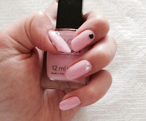 mean girls, nail art, and pink image