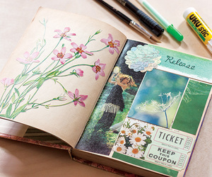 art journal and diy image