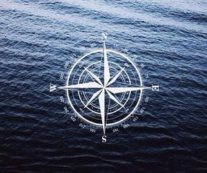 east, north, and kompass image
