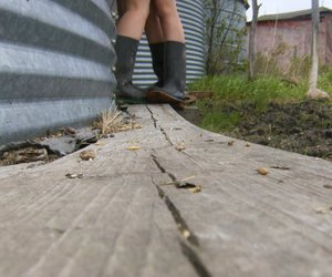 boots, photography, and rubbers image
