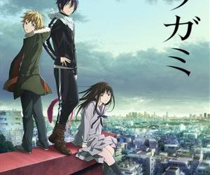 anime, noragami, and yukine image