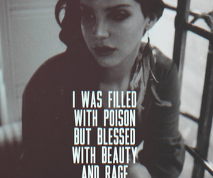 lana del rey, quotes, and ultraviolence image