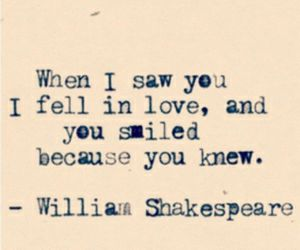 love, shakespeare, and quote image