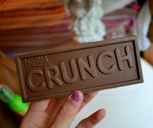 chocolate and crunch image